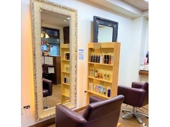 ヘアーメイクアズ Hair Make As 鳥飼店(福岡県福岡市城南区)