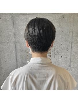 【coyoi】黒髪ショート×センターパート#2 <hirao>