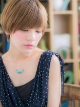 *+COVER HAIR+*…ハイトーンの★目力UP!ショートa 小頭.46