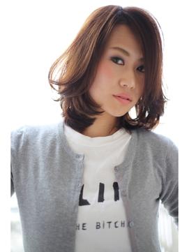 [OCEAN Hair&Life]大人可愛いくびれミディスタイル☆☆☆