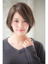 【joemi】大人タンバルモリセミウェットボブグレージュ(小倉太郎 ウェーブ.38
