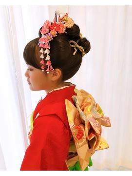七五三!日本髪【みのり】