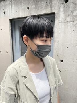 女性らしいベリーショート【下北沢】