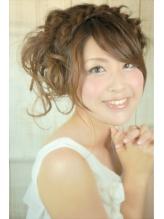 ブライダルヘア☆編み込みが可愛い今時花嫁ヘア .43