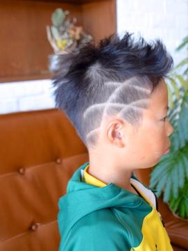 ★☆ Kid's cut  soccer boy's style ☆★