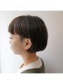 【uta 黒田】GUESUT 刈り上げボブ