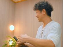 《カット¥2160》男性でも気軽に入れるカジュアルサロン★卓越したカット技術でクセ毛も生かすスタイルに!