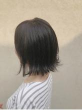 [idea菊地] 外ハネ×グレージュ×透け感×秋冬スタイル.25