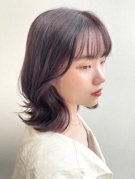 大人かわいい韓国風外ハネボブ