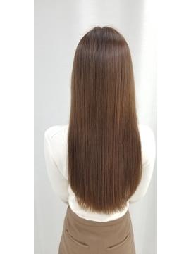 【キラ水美髪】×イルミナカラー×ワンレンロング