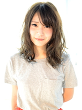 #hairsalon de ForeveLux#外国人風カラーくびれミディ .58