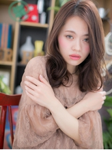 *+COVER HAIR+*…気だるい表情が似合う…リラクシーセミディa くびれカール.20