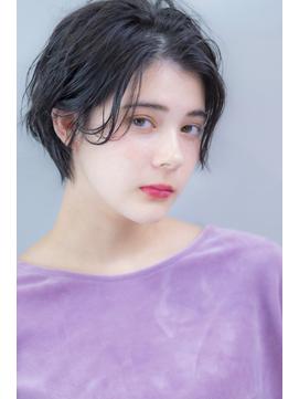 『毛束感 ×ネイビーグレージュ』☆モードヘア