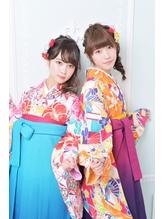 《Barretta/蒲田326》☆卒業式☆袴着付け☆リラクシーアレンジ☆ .35