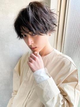 《Agu hair》クールなオシャレ×ニュアンスウェーブ