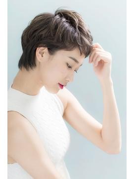 【二階堂光孝】30.40代人気☆簡単スタイリングの小顔ショート