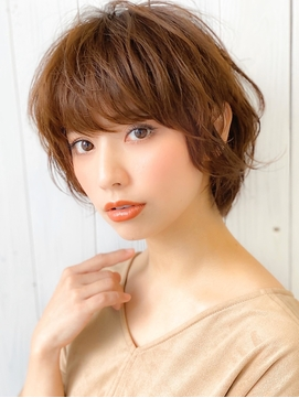 《Agu hair》大人かわいい無造作マニッシュショート