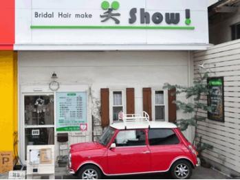 ブライダル ヘア メイク 笑(bridal hair make show)