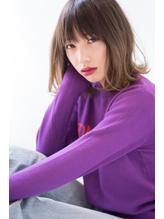 【BLANC】外ハネも可愛い☆ナチュラルなセミディスタイル♪ モイストカラー.44