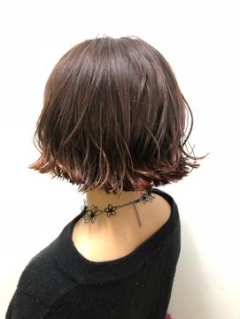 ☆オレンジ裾カラー☆