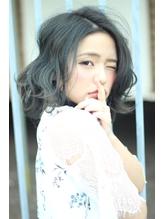 伸ばしかけでも可愛いヘア☆ダブルカラーで夏を演出.5
