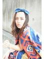 【saya】自然なウェーブの似合うミディ  下北沢good day hair
