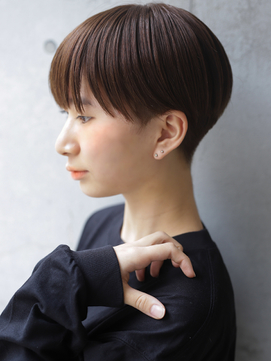 【+~ing】マッシュショートstyle刈り上げ女子【小川晏奈】