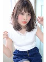 あざと可愛い☆ヘルシーレイヤーミディアム#小顔理論カット.10