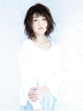 抜け感×フェミニンボブ .34