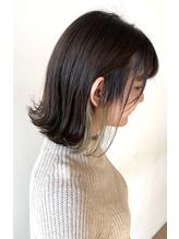 【first長町】外ハネボブ+インナーカラー.12