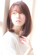 《dress/川崎129》☆ストレートミディ×フォギーベージュ☆ .29