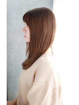 吉祥寺3分/美髪質改善クールショートボブルフピンクベージュ/017