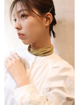 THOiRY YUKI 大人かわいい小顔コンパクトショートヘアアレンジ