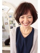 【12】ショート斜めバング☆ふわくしゅボブ.1