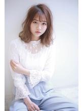☆抜け感たっぷり大人外ハネミディアム☆.59