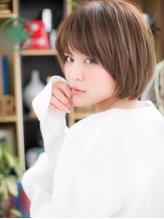 *+COVER HAIR+*…自然体の魅力♪万能ショートボブa 小頭.34