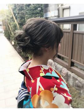 和装まとめ髪