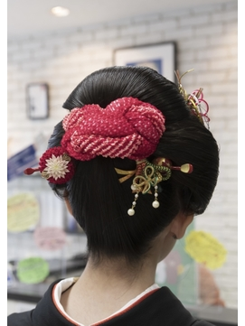 日本髪ヘアセット (成人式)