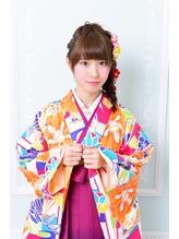 《Barretta/蒲田》☆卒業式☆袴着付け☆ファジーアレンジ☆ .8