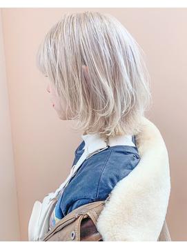 【koti原宿】担当遠山 white blond