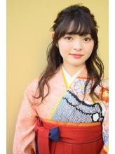 卒業式 袴着付け☆ヘアメイク 自由が丘ques .6