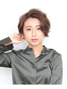 【表参道】Soleil 加藤 ノーバングパーマショート