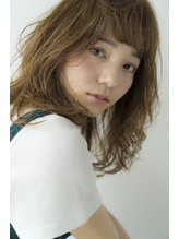 [Cafune/池袋]☆エアリーなグレージュミディ☆02.10