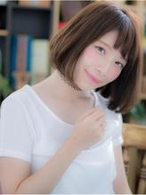 *+COVER HAIR+*…カジュアルフェミニン☆ツヤカールボブa浦和 好感度.45