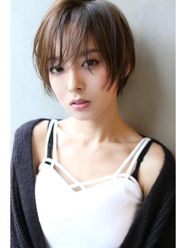 【Blanc/栄】小顔/ダブルバング/センシュアルショートak