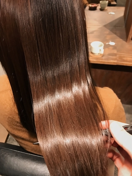 【驚くほどのツヤ】髪質改善トリートメント◎