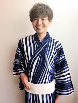 【着付け】☆メンズ浴衣着付け+ヘアセット☆