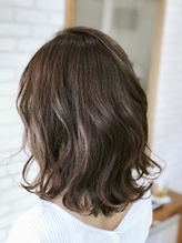 オトナ女性×シアーグレージュ×光纏う美髪.13