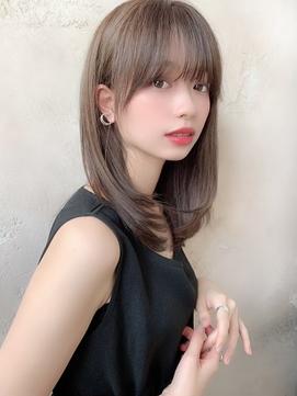 【Lond robin】伊藤ガク 20代30代/大人可愛い/セミロング/前髪
