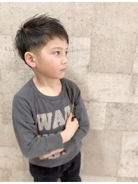 長野市アムールマヤ男の子キッズカット◎ショートヘア